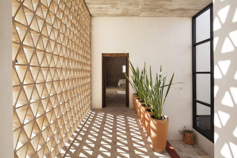 celosia diseño de casas passivhaus