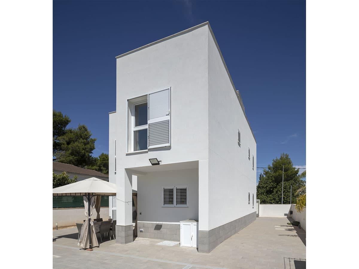 casa ximo fachada moderna